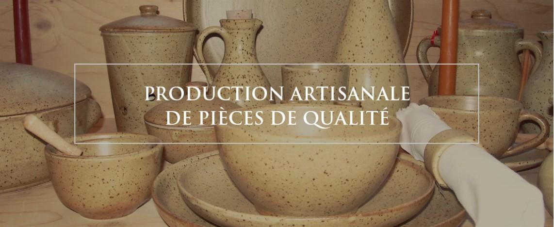 Production artisanale de pièces de qualité