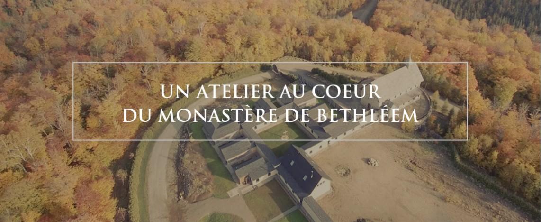 Un atelier au coeur de monastère de Bethléem