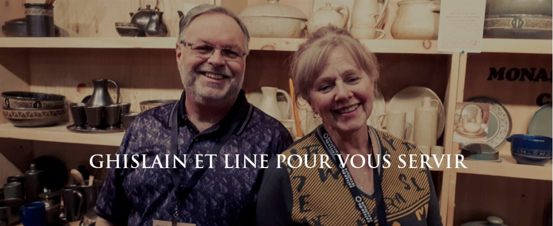 Ghislain et Line pour vous servir
